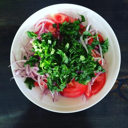 Chilean Tomato Salad